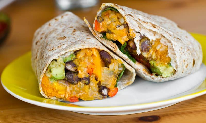 Chipotle Butternut Squash And Black Bean Burrito Bowl Recipes ...